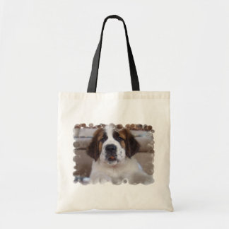 Saint Bernard Environmental Tote Bag