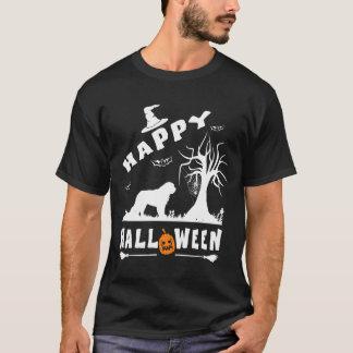 SAINT BERNARD Happy Halloween Dog Lovers Gift T-Shirt