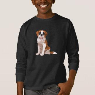 Saint Bernard Image T-Shirt