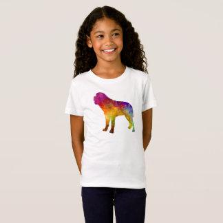 Saint Bernard in watercolor T-Shirt