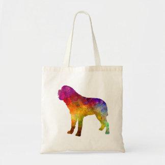 Saint Bernard in watercolor Tote Bag