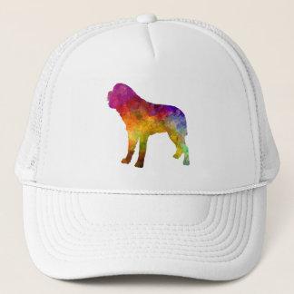 Saint Bernard in watercolor Trucker Hat
