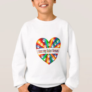 Saint Bernard Love Sweatshirt