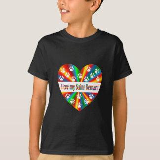 Saint Bernard Love T-Shirt