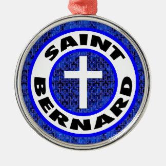 Saint Bernard Metal Ornament