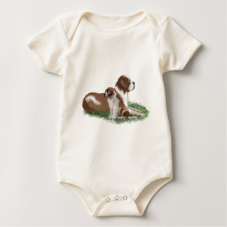 Saint Bernard Mother Love Baby Bodysuit