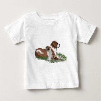 Saint Bernard Mother Love Baby T-Shirt
