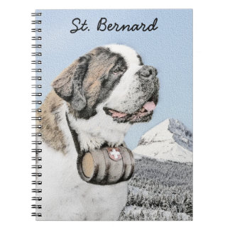 Saint Bernard Notebook