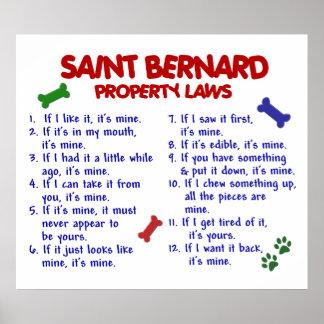 SAINT BERNARD PL2 POSTER