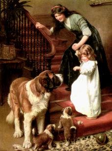 Saint Bernard Dog Postcards | Zazzle CA