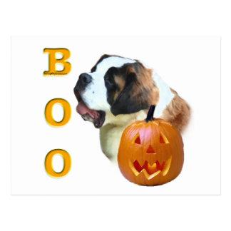 Saint Bernard (Rough) Boo Postcard
