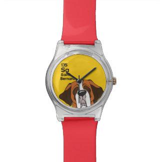 Saint Bernard - The Dog Table Wrist Watch