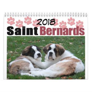 Saint Bernard Wall Calendars