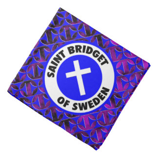 Saint Bridget of Sweden Bandana
