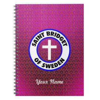 Saint Bridget of Sweden Notebook