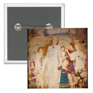 Saint Brigid as a Bride Pin
