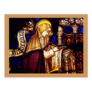 Saint Brigid of Sweden Postcard