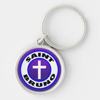 Saint Bruno Keychain
