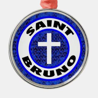 Saint Bruno Metal Ornament