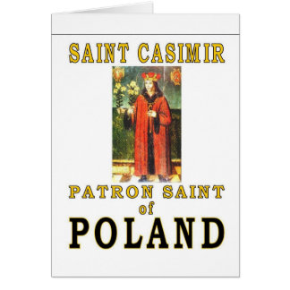 SAINT CASIMIR CARD