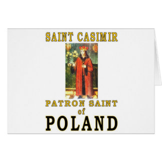 SAINT CASIMIR CARD