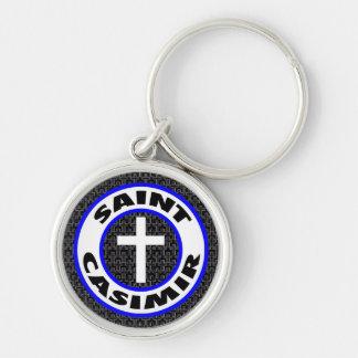 Saint Casimir Keychain