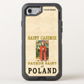 SAINT CASIMIR  (Patron Saint of Poland) OtterBox Defender iPhone 7 Case