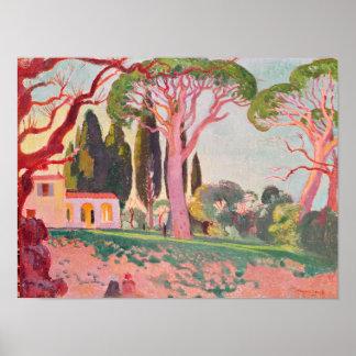 Saint-Cassien Chapel, Cannes, 1922 Poster