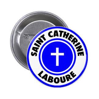 Saint Catherine Laboure Pinback Buttons