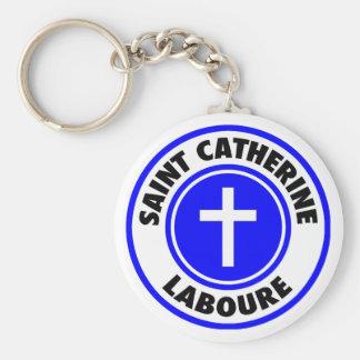Saint Catherine Laboure Keychain