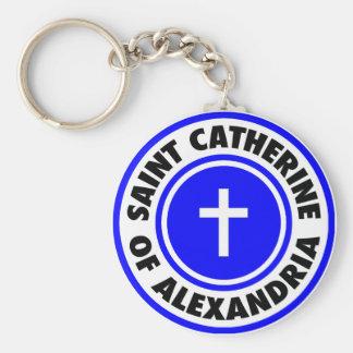 Saint Catherine of Alexandria Keychain