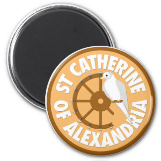 Saint Catherine of Alexandria Magnet
