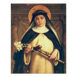Saint Catherine of Siena Poster
