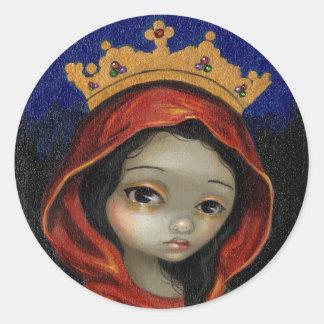 """Saint Catherine"" Sticker"