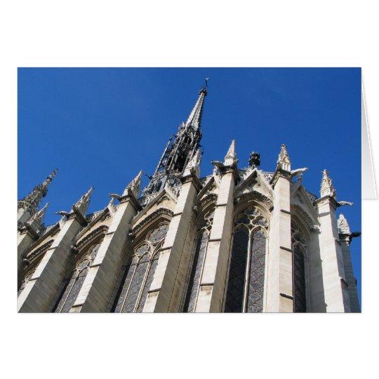 Saint Chapelle Paris Card