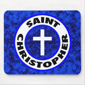 Saint Christopher Mouse Pad