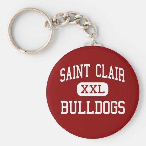 Saint Clair - Bulldogs - Senior - Saint Clair Key Chains