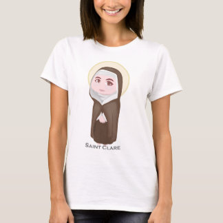 Saint Clare Cute Catholic T-Shirt