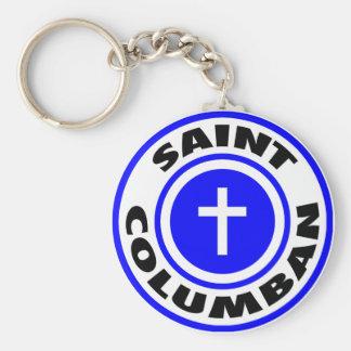 Saint Columban Keychain