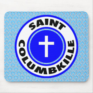 Saint Columbkille Mouse Pad