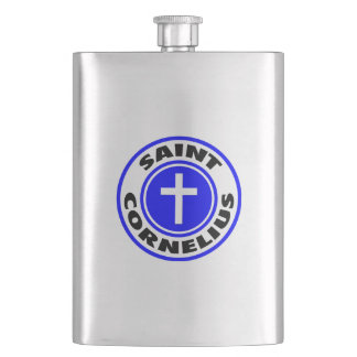 Saint Cornelius Hip Flask