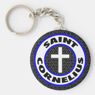 Saint Cornelius Keychain