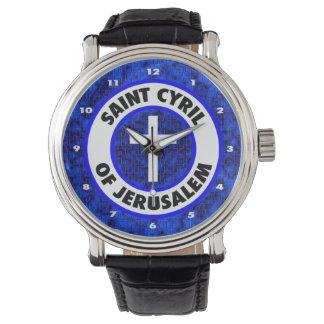 Saint Cyril of Jerusalem Watch