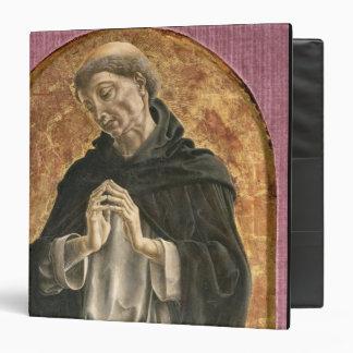 Saint Dominic (tempera on panel) Vinyl Binders