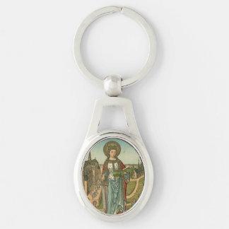 Saint Dymphna Keychain