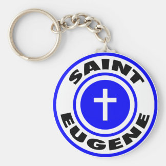Saint Eugene Keychain