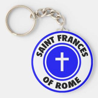 Saint Frances of Rome Keychain