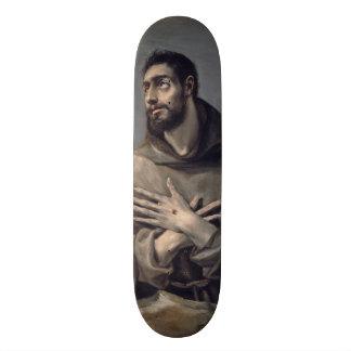 Saint Francis by El Greco Skate Board