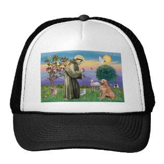 Saint Francis - Golden Retriever (#1) Trucker Hat