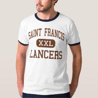 Saint Francis - Lancers - High - Mountain View T-Shirt